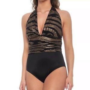 Magicsuit by Miraclesuit Shine On Halter Swimsuit